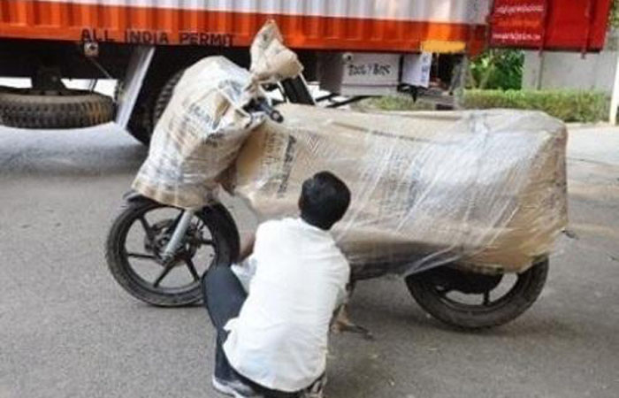 Bike Transport in India
