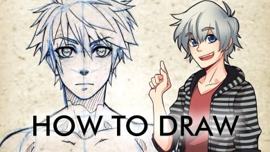 Tips on a way to draw an anime personage