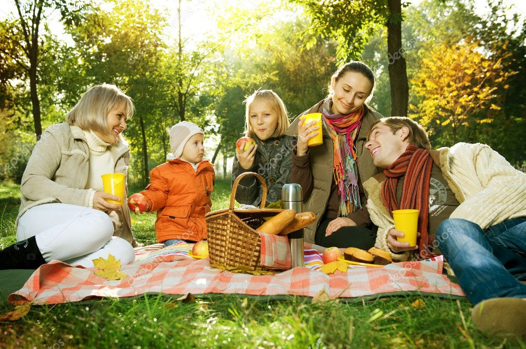 family picnics food