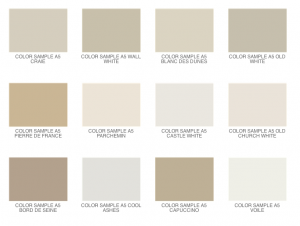 neutral color plates