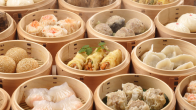Popular dim sum dishes