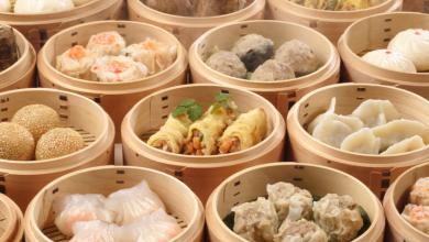 Popular dim sum dishes