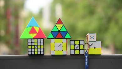 types of 4x4 speed cube