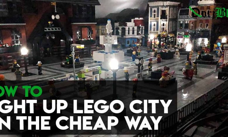 How to Light Up Lego City on the Cheap Way