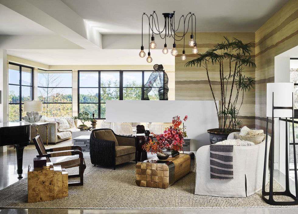 living room bulb decor