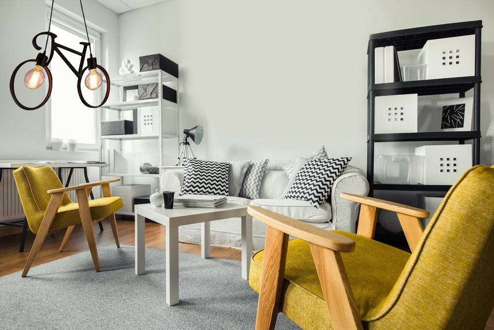 cycle decor for living room