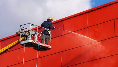 Cleaning Cladding