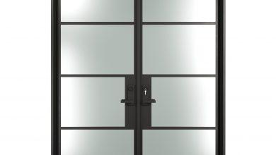 French Steel Door
