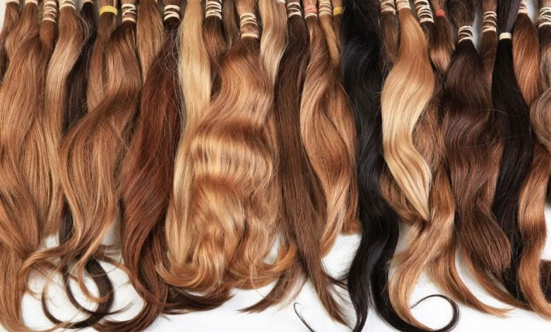 Pure Indian hair extensions are 100% virgin hair