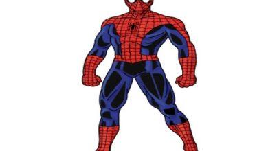 draw a spiderman