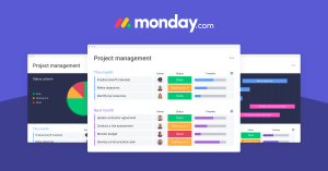Monday Software for work sharing