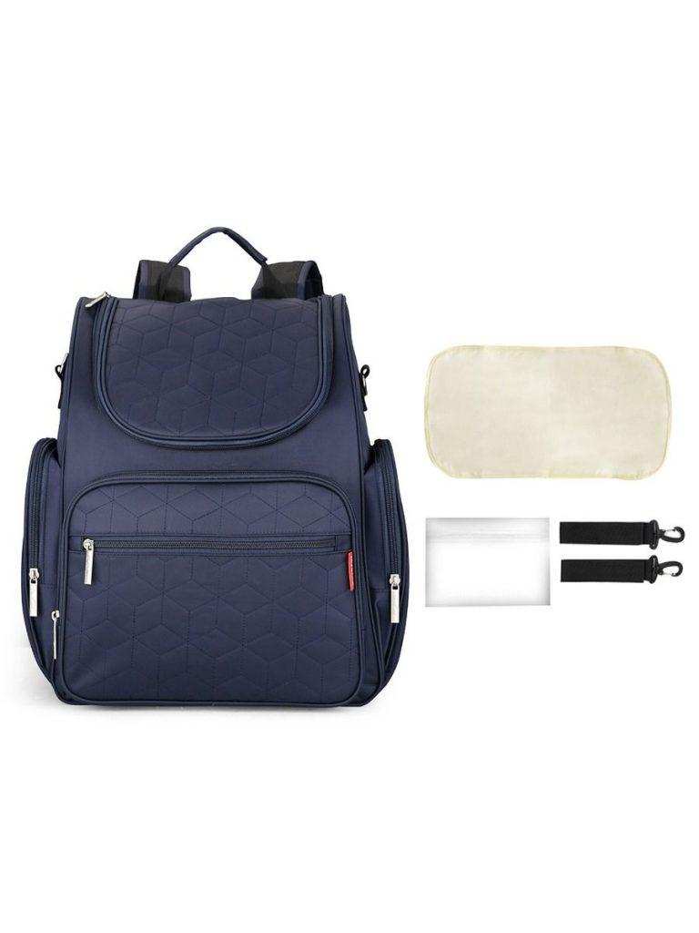 Mommy Waterproof Multifunctional Diaper Bag Solid Color