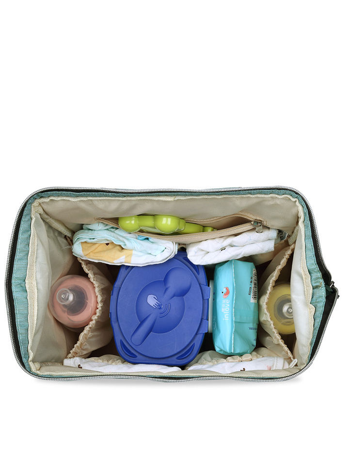 SOLID COLOR MOM LARGE CAPACITY MULTI-FUNCTIONAL BAG WATER PROOF DIAPER BAG