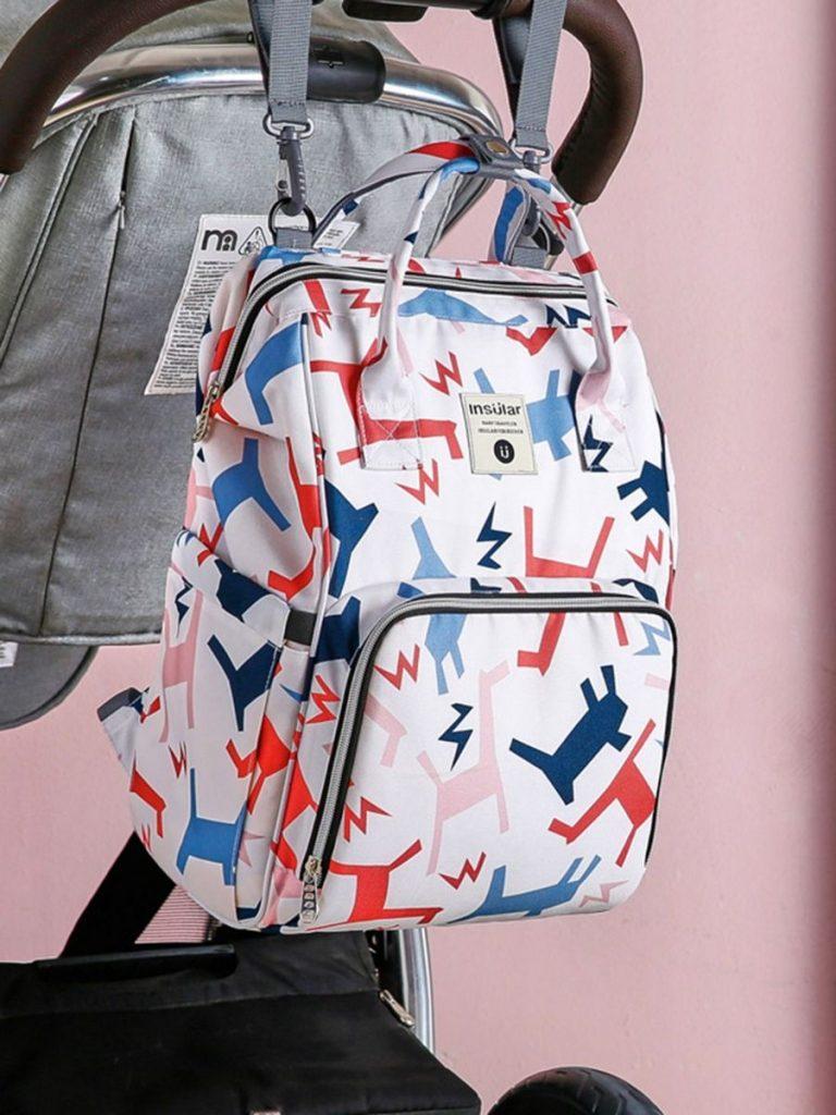 Mommy Waterproof Lovely Printed Backpack