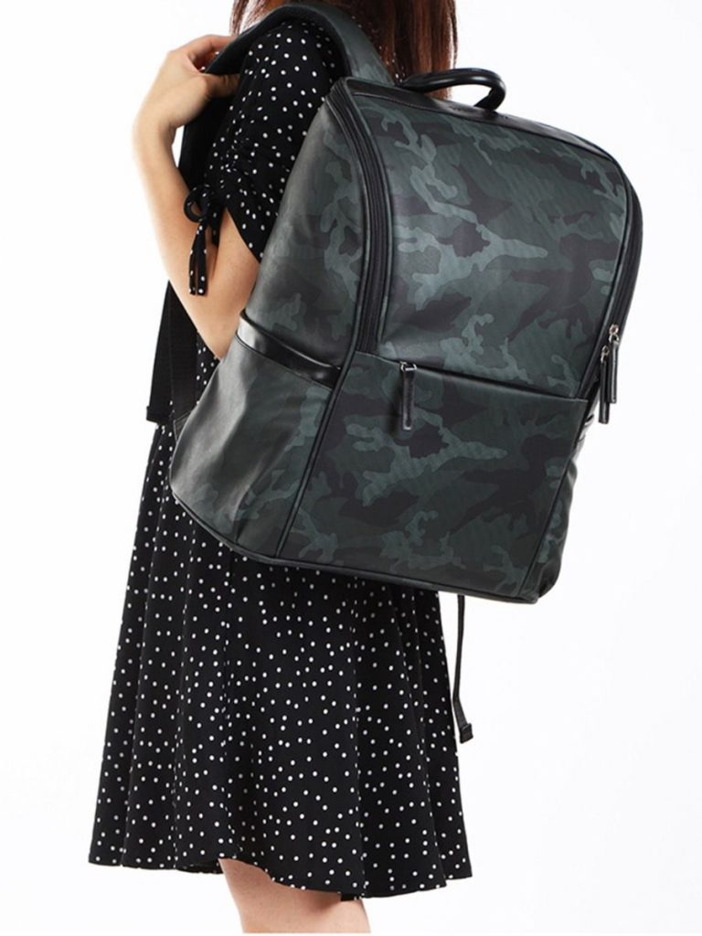 Multifunctional Mommy Camo Backpack