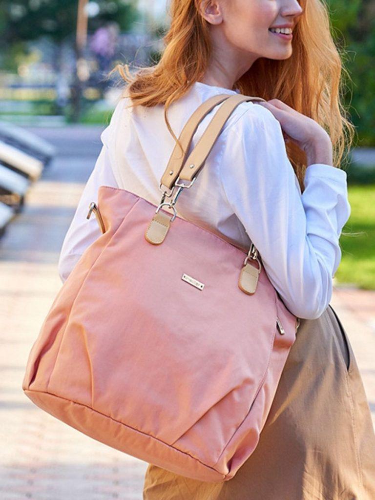 Mommy Solid Color Messenger Bag
