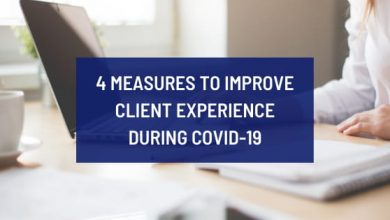 4 measures to improve client experience