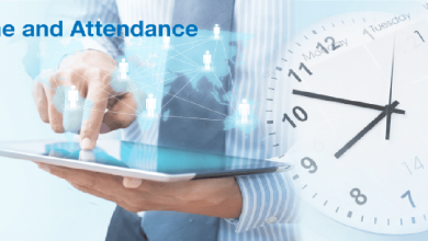Time attendance machine for business