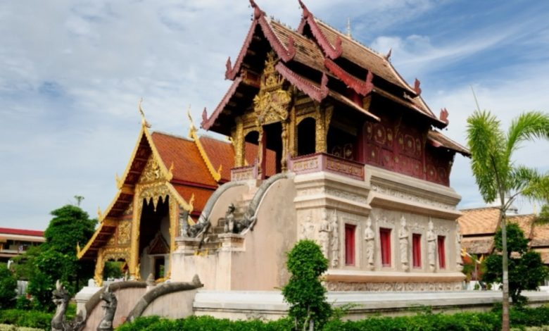 Wat Phra Singh temple- chiang mai