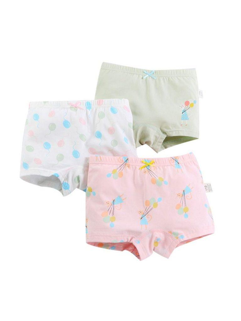 3 PACK LITTLE GIRL PANTIES