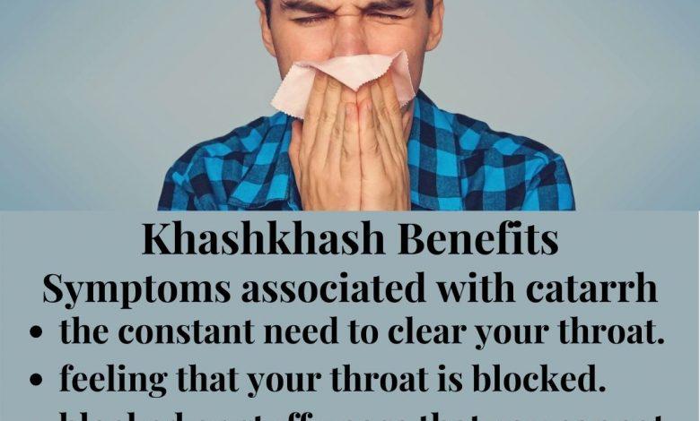 Khashkhash Benefits