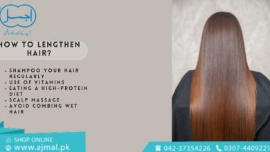 How to lengthen hair