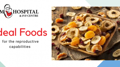 Ideal foods for the reproductive capabilities