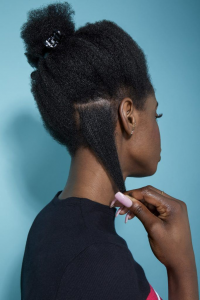 Twist your hair in sections to achieve waves