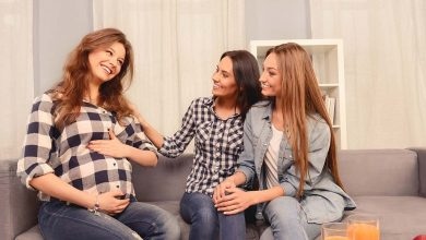 laughing in pregnancy