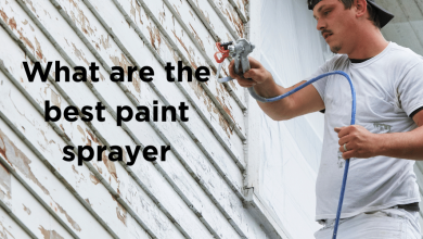 What are the best paint sprayer