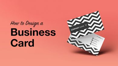 How to design a business card