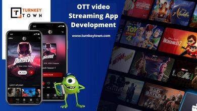 OTT video streaming app development