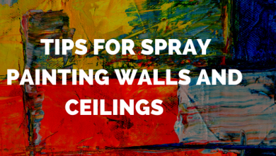 Strategies for Spray Painting Walls and Ceilings