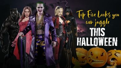 Top Five Looks you can juggle this Halloween