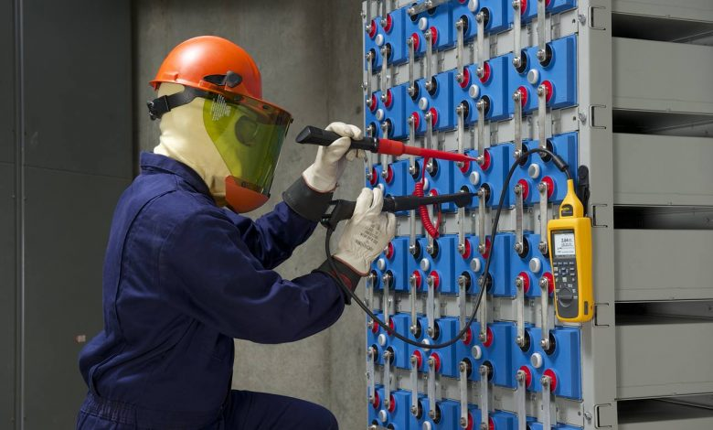 storage of batteries - maintenance, testing