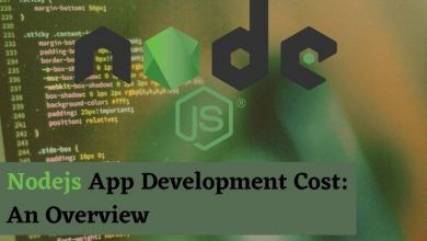 Nodejs App Development Cost