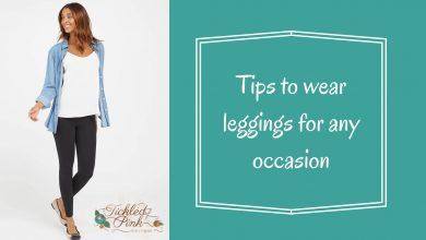 wear leggings