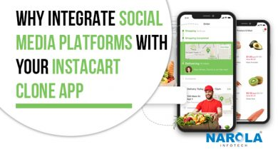 Why Integrate Social Media Platforms with Your Instacart Clone App